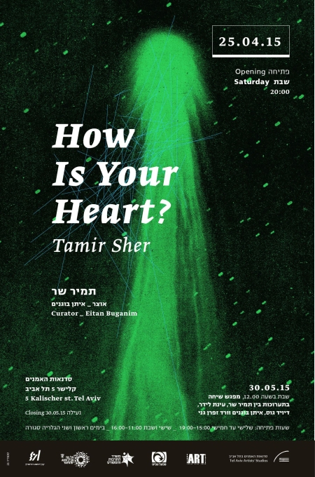How is Your Heart?//Tamir Sher solo exhibition/